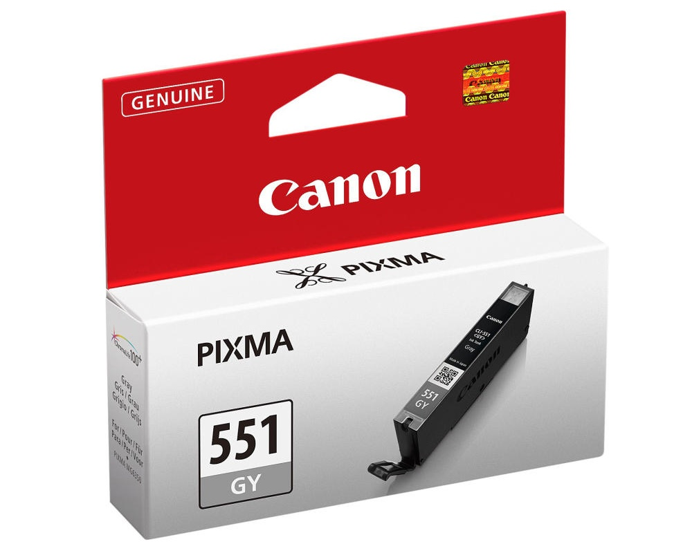 Canon CLI-551 GY, šedá