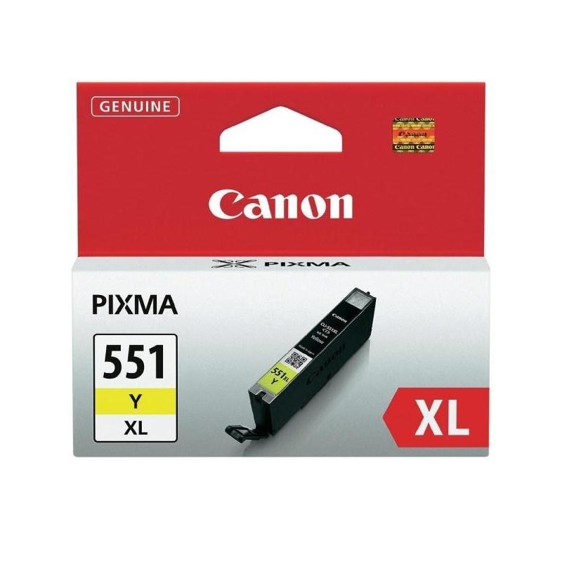 Canon CLI-551 XL Y, žlutá velká