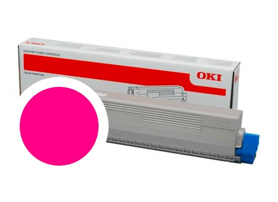 OKI magenta toner do C824/C834/C844 (5 000 stran)