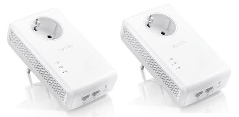 ZyXEL 1,8Gbps Powerline 2Gb LAN PLA5456 2pack