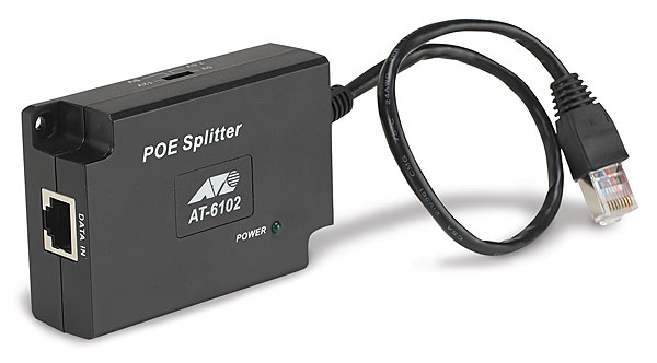 Allied Telesis  Gb POE Splitter,802.3af AT-6102G