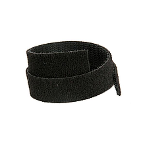 Oboustranný suchý zip Solarix,šířka 20mm,25m,černý