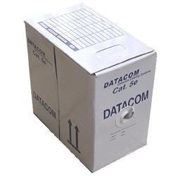 DATACOM  UTP flex,Cat5e PVC,šedý,305m,lanko
