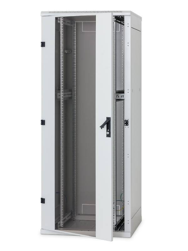 Stojanový rozvaděč 47U (š)600x(h)800 perfor.dveře