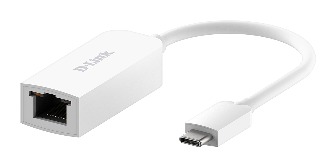 D-Link DUB-E250 USB-C to 2.5G Ethernet Adapter