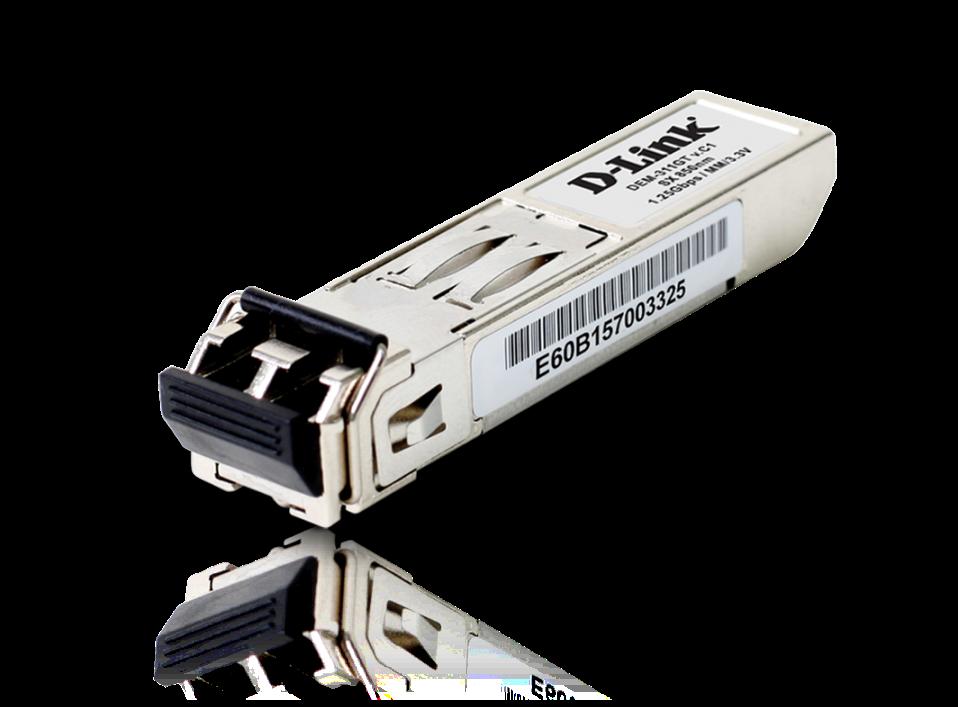 D-Link 1-port Mini-GBIC SFP to 1000BaseSX, 550m, DEM-311GT