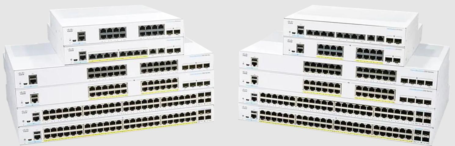 Cisco Bussiness switch CBS350-24MGP-4X-EU