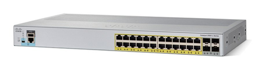 Cisco WS-C2960L-24PS-LL (24xGE, 4xSFP, LL, PoE)