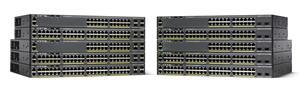 Cisco WS-C2960X-24TS-L, 24xGigE, 4x SFP, LAN Base