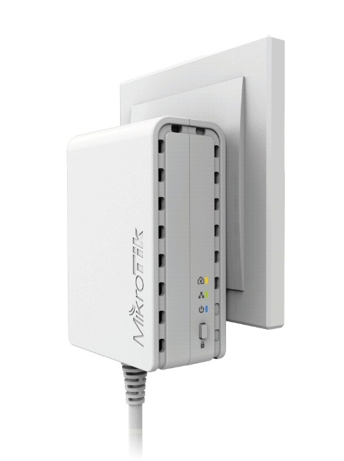 MikroTik PL7400 Powerline adaptér PWR-LINE