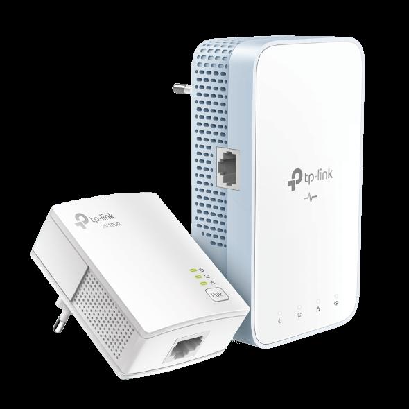 TP-Link TL-WPA7517KIT AV1000 Gb Pwrline AC750 Wifi kit (2ks)