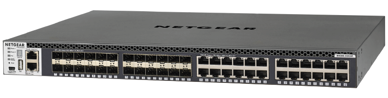 NETGEAR M4300-24X24F MANAGED SWITCH