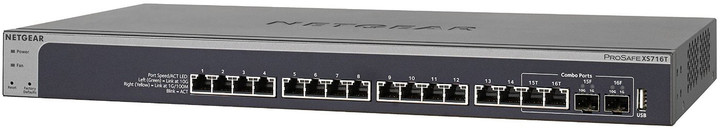 NETGEAR 16PT 10G SMART MANAGED SWITCH, XS716T