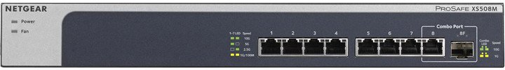 NETGEAR 8PT 10G/MULTIGIGABIT UNMANAGED SWCH