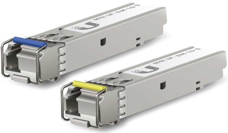 UBNT UF-SM-1G-S - U Fiber, SM Modul, 1G, 2-Pack