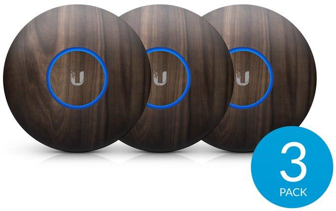 UBNT kryt pro UAP-nanoHD, dřevěný motiv, 3 kusy