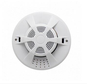 iGET SECURITY P14 - bezdrátový detektor kouře,norma EN14604:2005,samostatný nebo pro alarm M3B a M2B