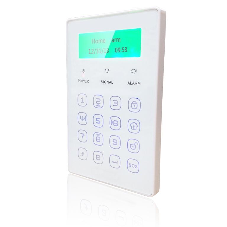 iGET SECURITY P13 - externí bezdrátová klávesnice s LCD displejem pro alarm M2B