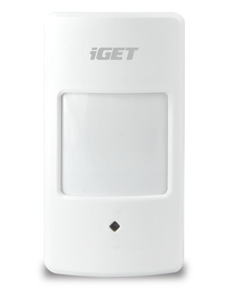 iGET SECURITY M3P1 - bezdrátový pohybový PIR detektor pro alarmy M3 a M4