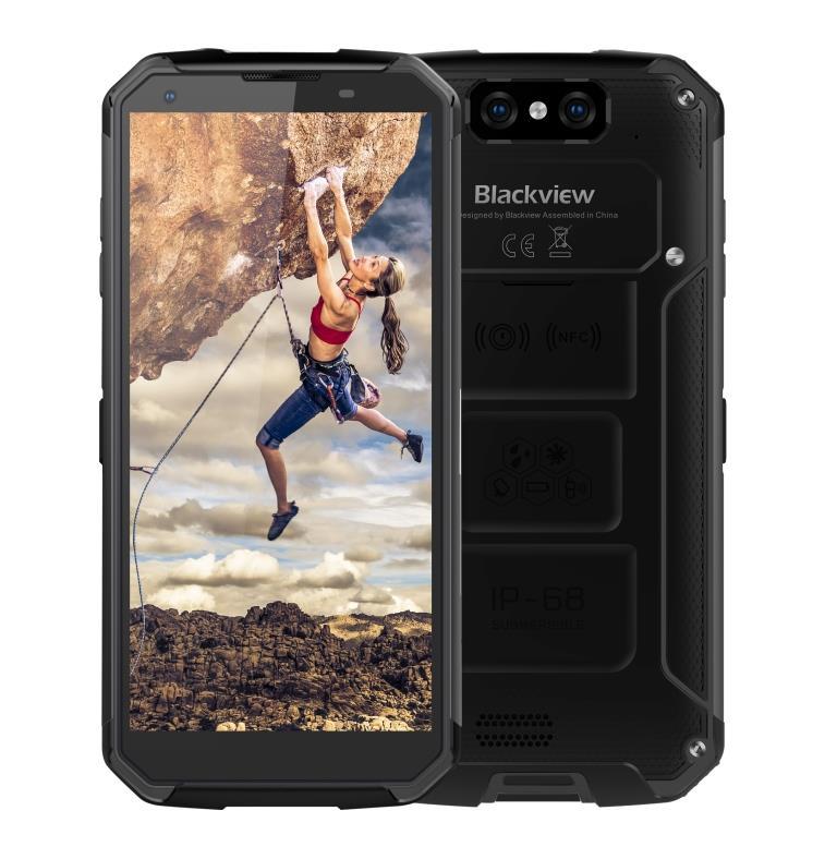 iGET Blackview GBV9500 Plus Black odolný telefon, 5,7