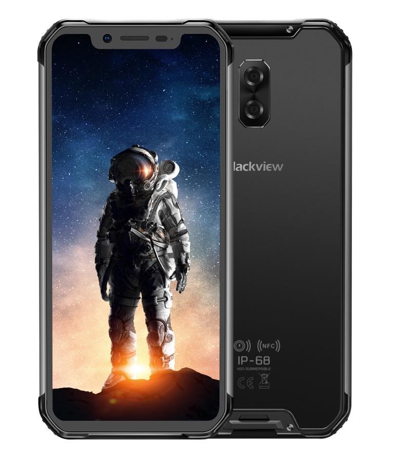 iGET Blackview GBV9600 Pro 2019 Black odolný dle MIL-STD-810G, 6,21