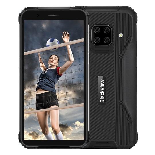 iGET Blackview GBV5100 Black odolný telefon, 5,7