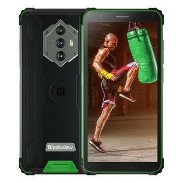 iGET Blackview GBV6600 Green odolný telefon, 5,7