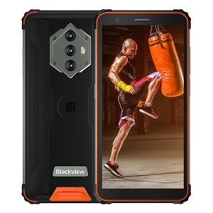 iGET Blackview GBV6600 Orange odolný telefon, 5,7