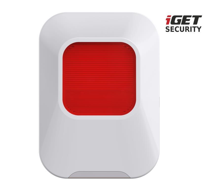 iGET SECURITY EP24 - vnitřní siréna napájená baterií + USB portem, pro alarm M5