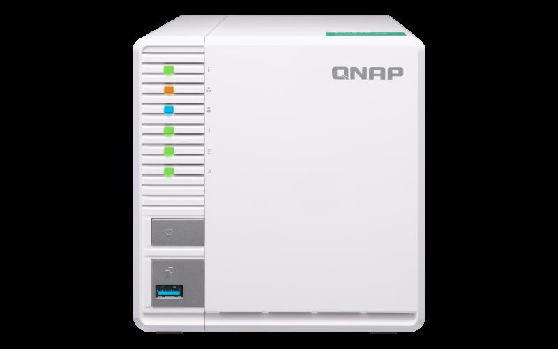 QNAP TS-328 (1,4Ghz / 2GB RAM DDR4 / 3x SATA / RAID 5 / 1x USB 2.0 / 2x USB 3.0)