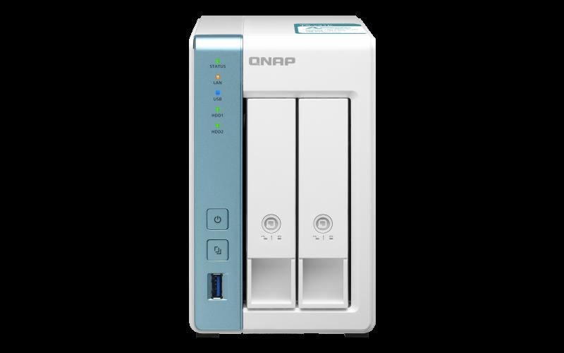 QNAP TS-231K (4core 1,7GHz / 1GB RAM DD3 / 2x SATA / 2x GbE / 3x USB 3.2 Gen1 / Snímky - Snapshots)