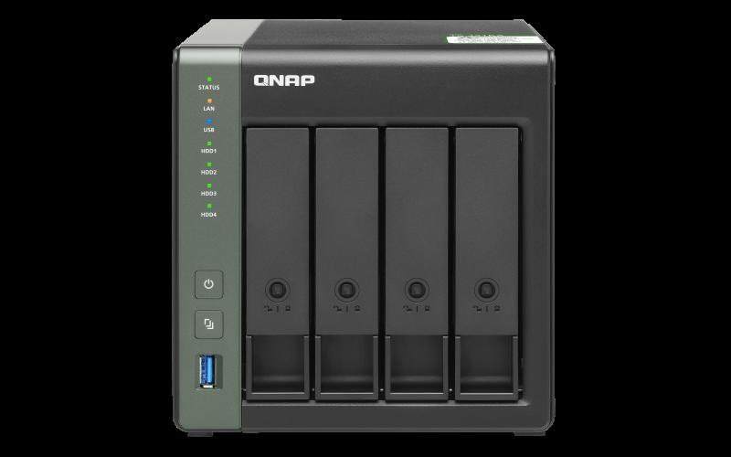QNAP TS-431KX-2G (4core 1,7GHz / 2GB RAM / 4x SATA / 2x GbE / 1x 10GbE SFP+ / 3x USB 3.2 Gen1 )