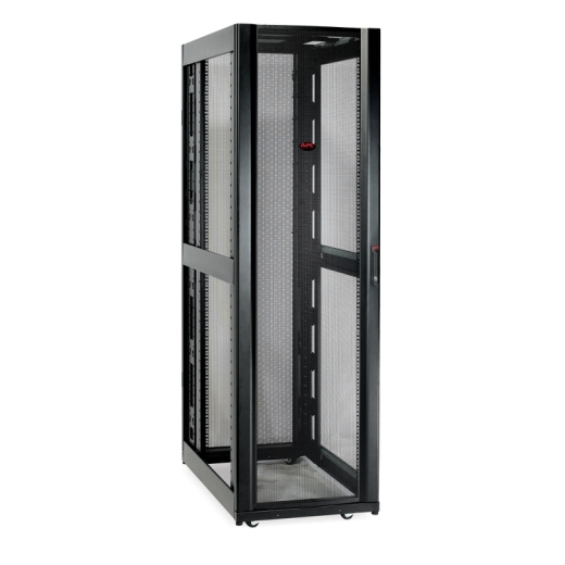 Netshelter SX 42U 600mm Wide x 1200mm Deep Enclosure Without Sides Black