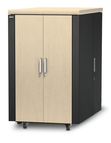 NetShelter CX 24U Secure Soundproofed Server Room in a Box Enclosure International