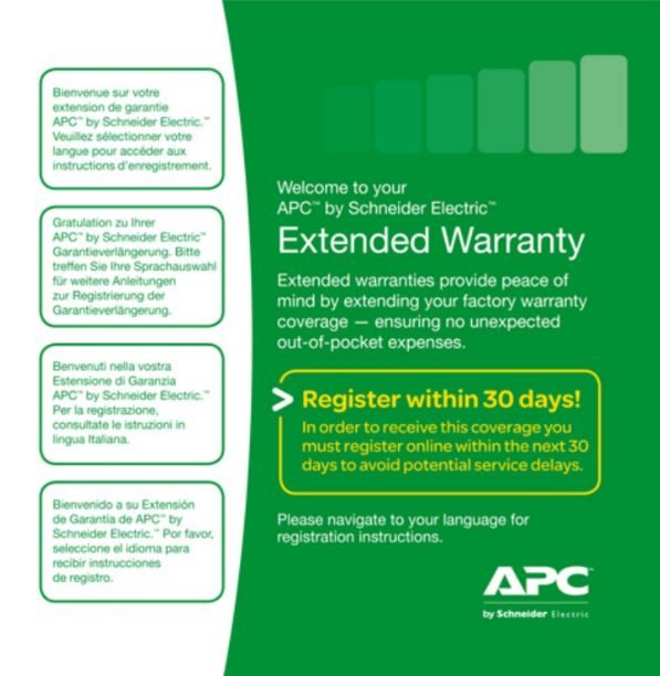 1 Year Extended Warranty, WEXTWAR1YR-SP-02