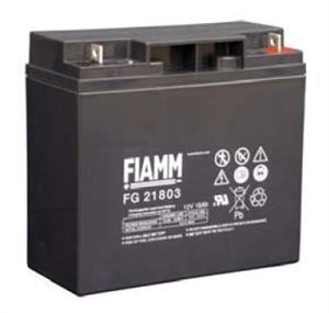 Baterie - Fiamm FG21803 (12V/18,0Ah - M5), životnost 5let