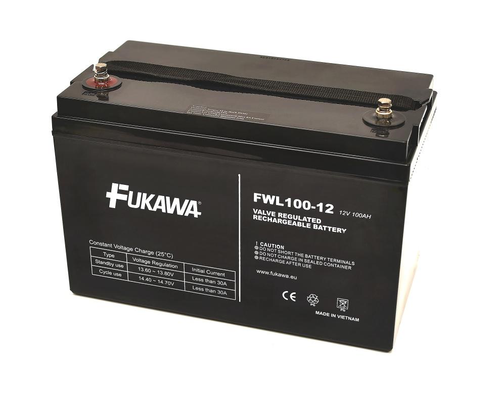 Akumulátor FUKAWA FWL100-12 (12V 100Ah živ. 10let)