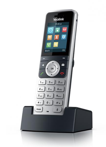 Yealink W53H IP DECT ručka pro W52P, W53P nebo W56P, 1,8'' bar.disp.
