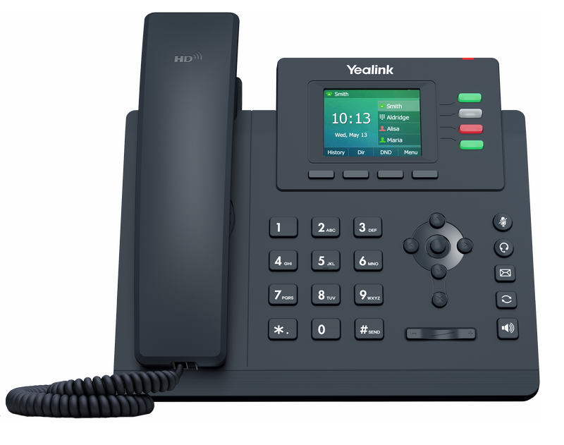 Yealink SIP-T33G SIP telefon, PoE, 2,4
