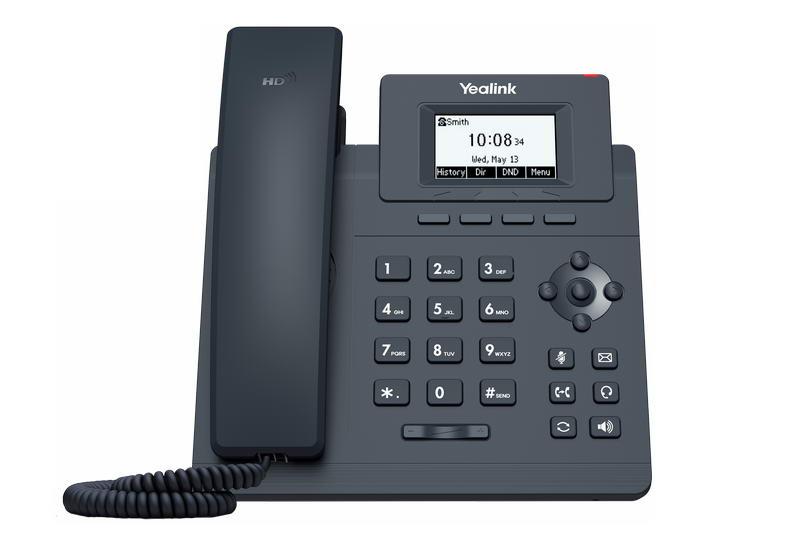 Yealink SIP-T30P SIP telefon, PoE, 2,3
