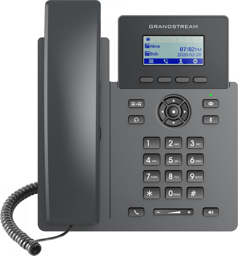 Grandstream GRP2601 SIP telefon, 2,21