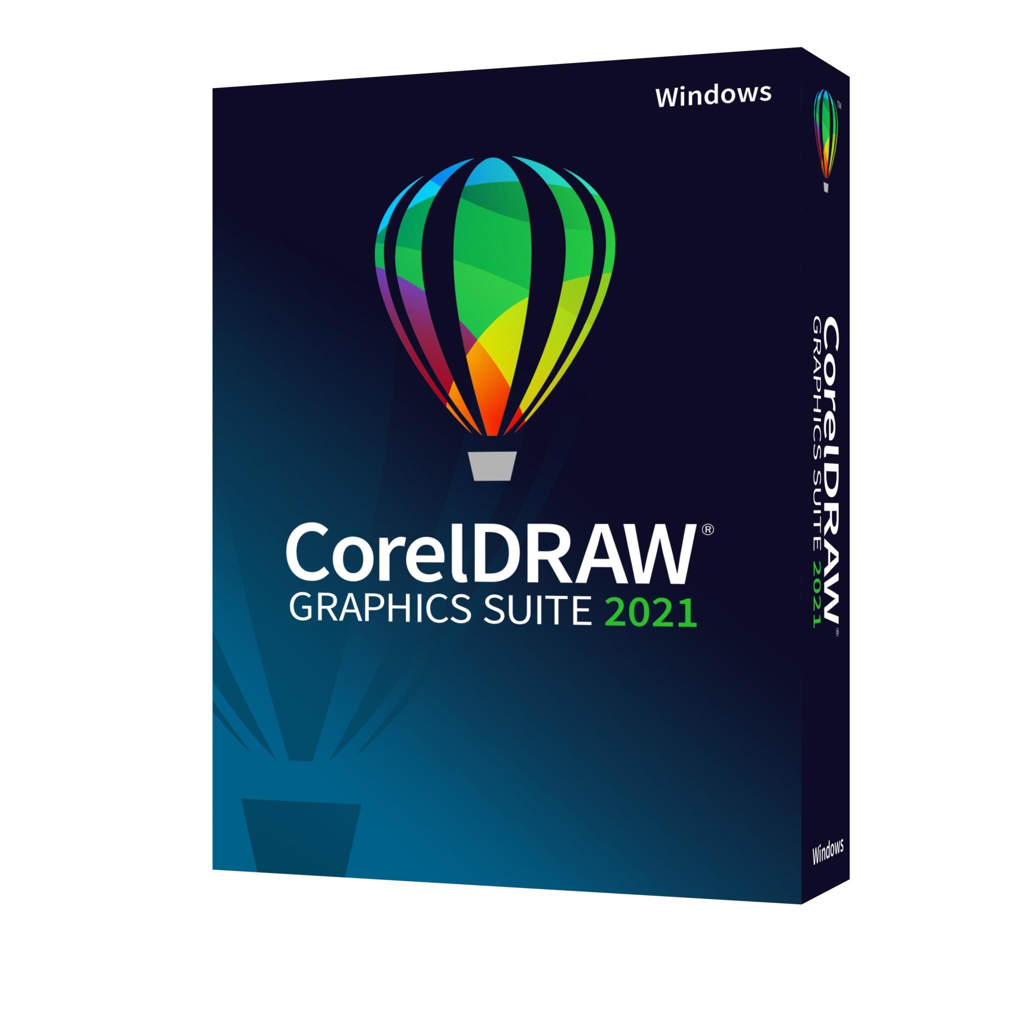 CorelDRAW Graphics Suite 2021 Win