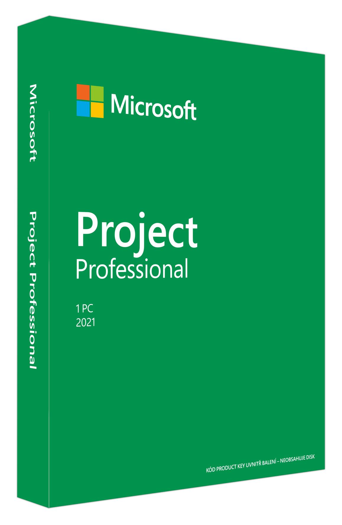 Project Pro 2021 Win SK