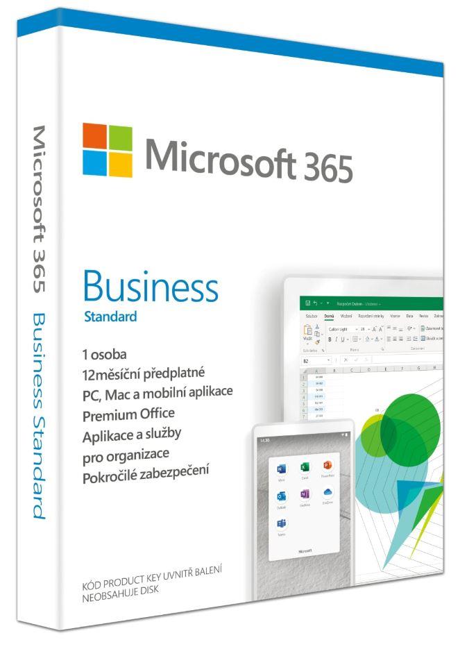 Microsoft 365 Business Standard P6 Mac/Win, 1 rok, SK