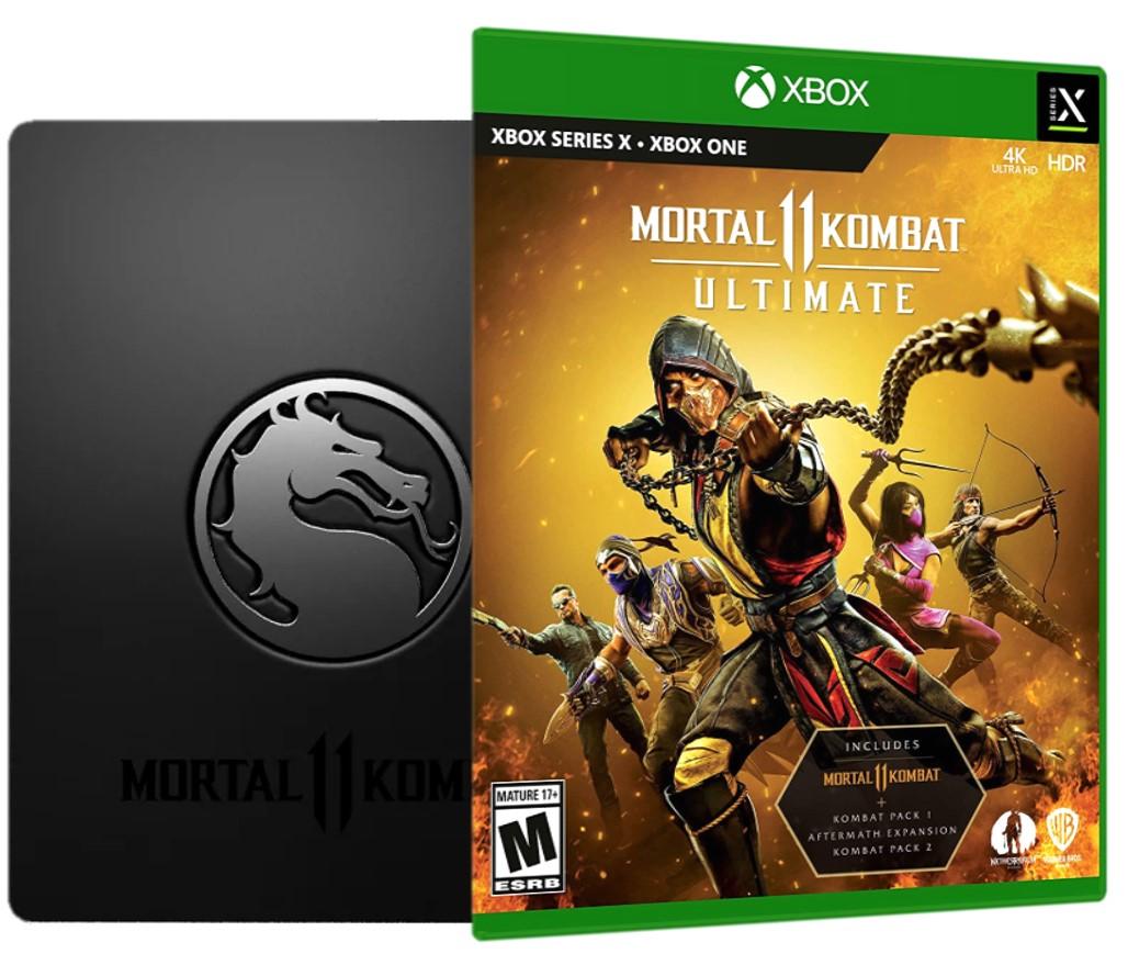 XOne/XSX - Mortal Kombat XI Ultimate Steelbook