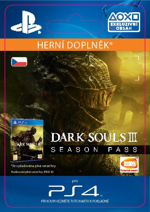 ESD CZ PS4 - DARK SOULS III - Season Pass