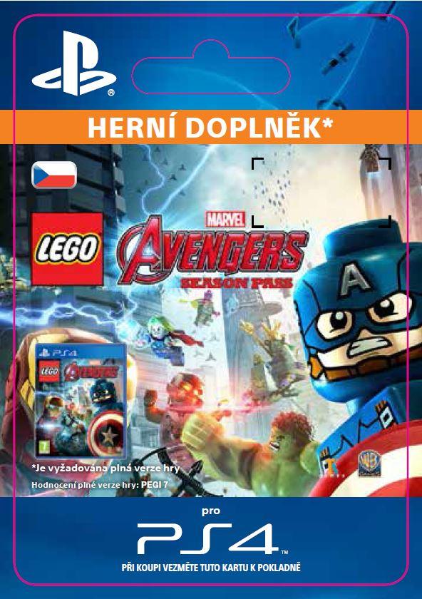 ESD CZ PS4 - LEGO® Marvel's Avengers Season Pass