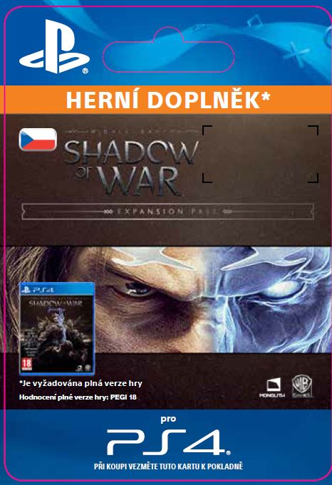 ESD CZ PS4 - Middle-earth™: Shadow of War™ Expansion Pass