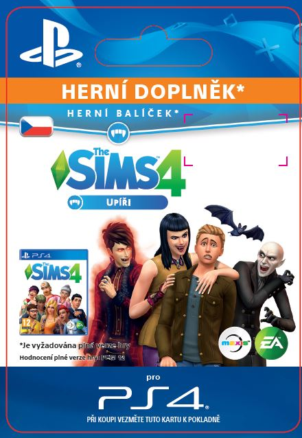 ESD CZ PS4 - The Sims™ 4 Vampires
