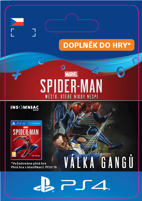ESD CZ PS4 - Marvel's Spider-Man: Turf Wars